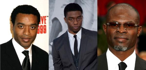 Chiwetel Ejiofor / Chadwick Boseman / Djimon Hounsou