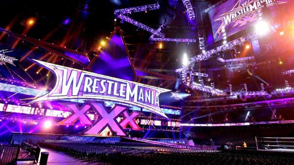 wrestlemania banner